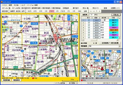 GPSメインマップ