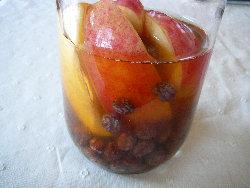 レーズンとりんごの自家製酵母