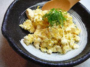フワフワ卵が美味しいの〜♪