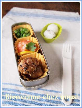 お昼のお弁当♪