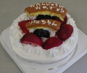 乳製品を使わないケーキ