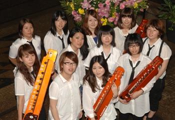 大正琴新ユニット「T-century月姫」