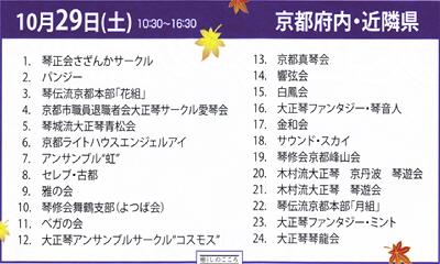 国民文化祭2011大正琴の祭典29日