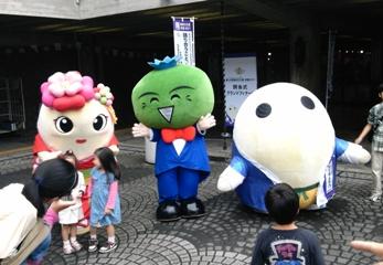 第26回国民文化祭・京都2011「閉会式」会場前