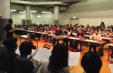 大正琴誕生100年記念合同演奏会練習