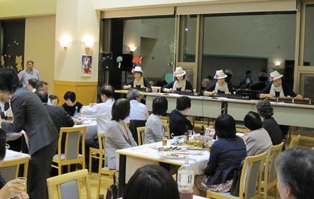 日本ルーラルナーシング学会懇親会大正琴演奏