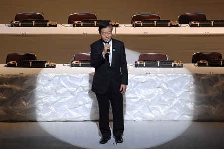 琴伝流大正琴第28回全国大会・来賓小坂憲次様