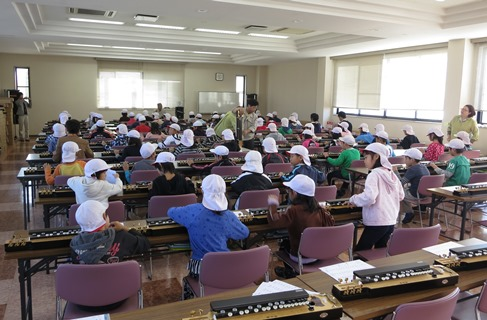 赤穂南小学校3年生社会見学H25-2