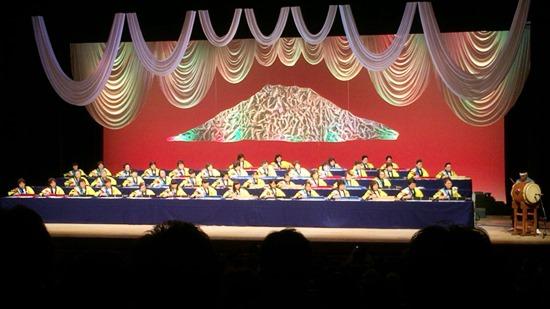 第30回国民文化祭・かごしま2015「大正琴の祭典」舞台