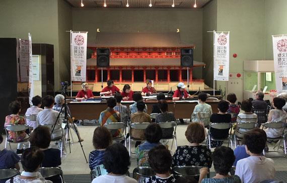 奈良国文祭プレイベント大正琴演奏