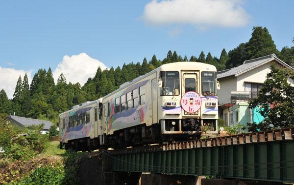 「大正琴の日」大正琴列車1
