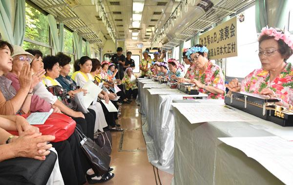 「大正琴の日」大正琴列車2