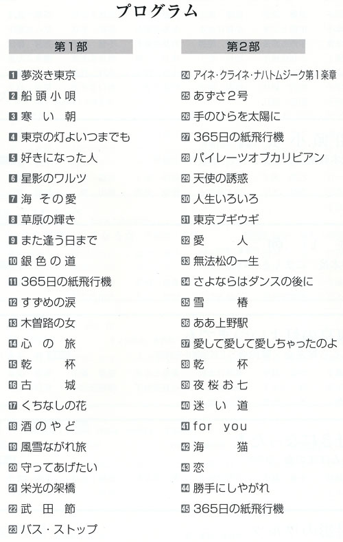 琴伝流大正琴第38回長野県大会プログラム