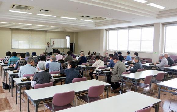 岸和田市大沢町老人クラブ連合会会社見学