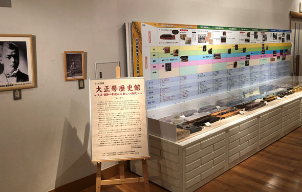 浜松市楽器博物館展示1