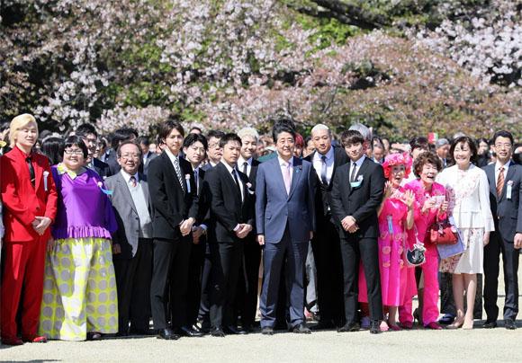 総理主催「桜を見る会」