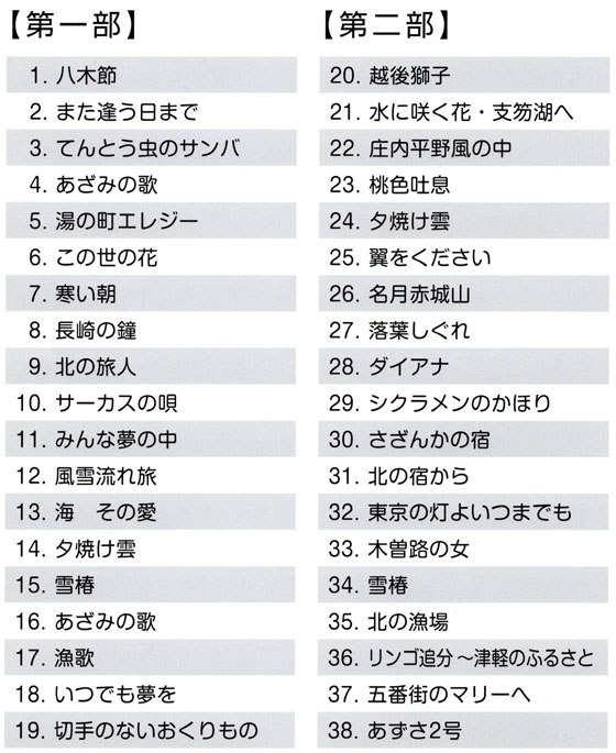 琴伝流大正琴第30回新潟県大会プログラム