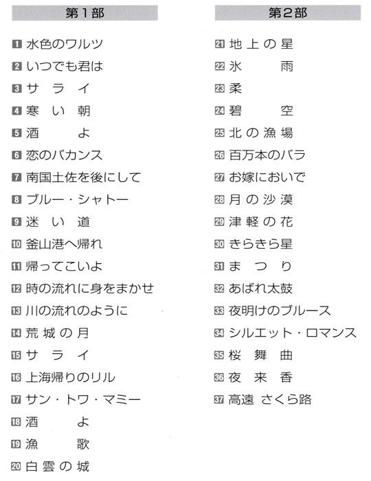 琴伝流大正琴第40回長野県大会プログラム