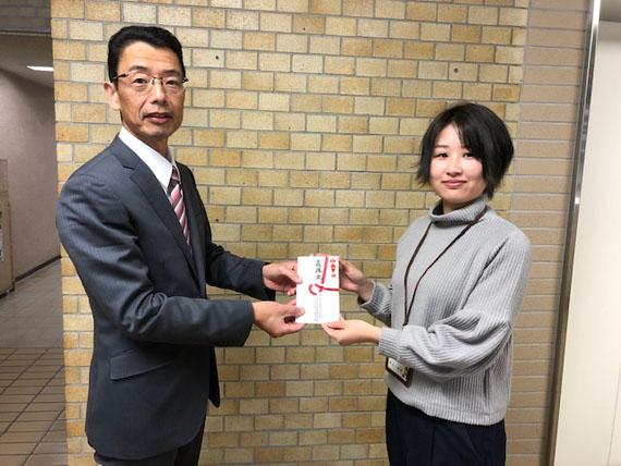 台風19号長野県大会義援金贈呈