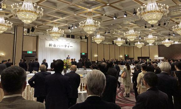 信濃毎日新聞社新春パーティー2020