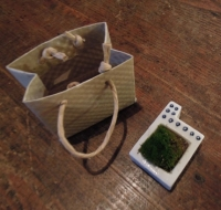 苔器とミニ紙袋