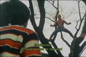あ、スパイダーマン!