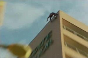 思わず乗り出すスパイダーマン