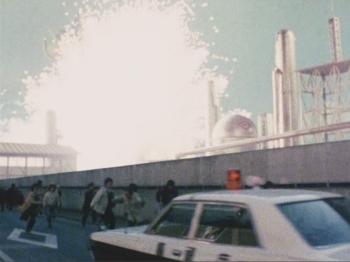 電子戦隊デンジマン第3話「油地獄大パニック」