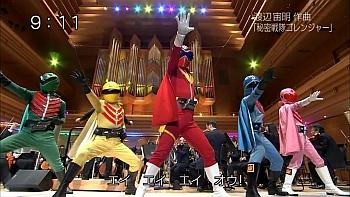 題名のない音楽会「仮面ライダー&スーパー戦隊」