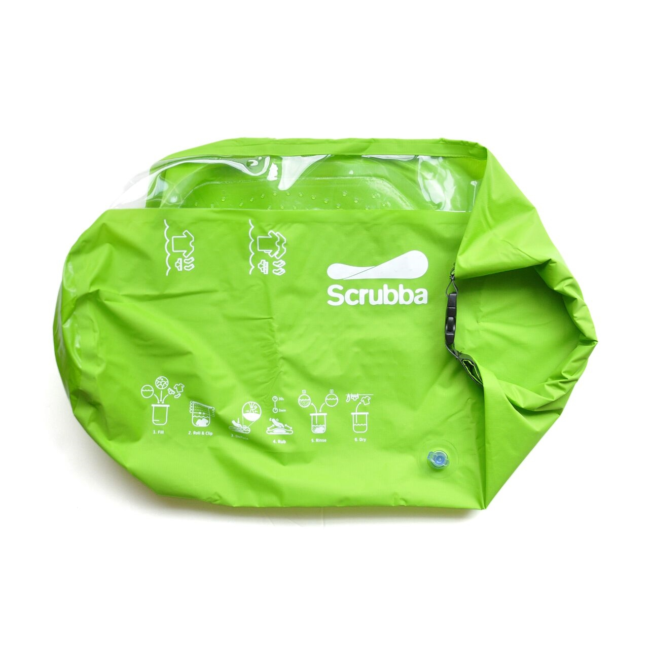 手動洗濯機 Scrubba wash bag