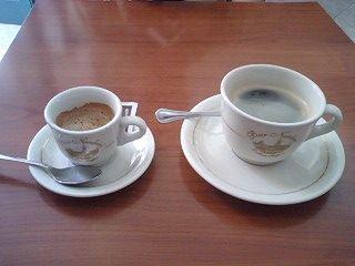 エスプレッソとアメリカンコーヒー