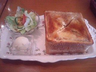 ミルフォードのメープルシロップのトースト