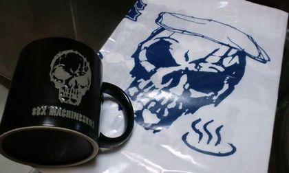 SEX MACHINEGUNS 髑髏マグカップ&手ぬぐい