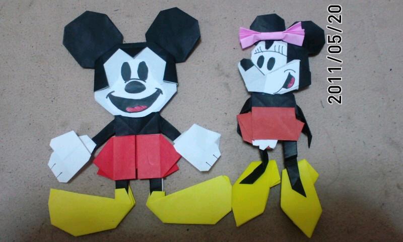 すべての折り紙 折り紙でキャラクター : キャラクターなどの折り紙を ...