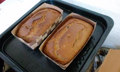 ずきときなこのパウンドケーキ