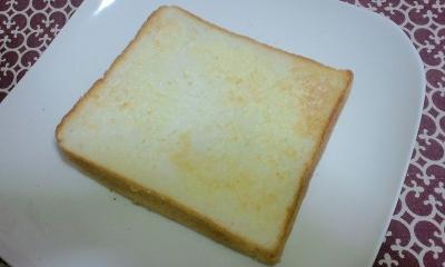 トースト後