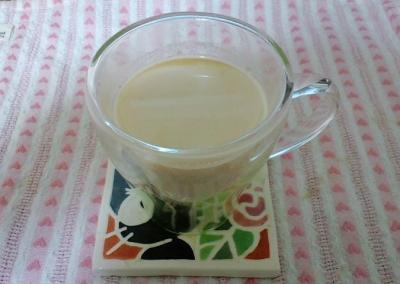 きなこジンジャーミルク