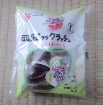 蒟蒻畑ララクラッシュぶどう味