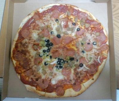 コンビネーションピザ