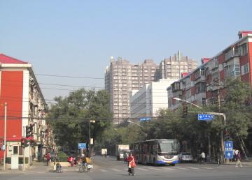 北京の住宅区
