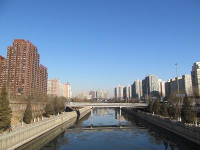北京の空(2013年1月17日)