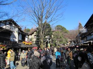 �初春の神社仏閣めぐり