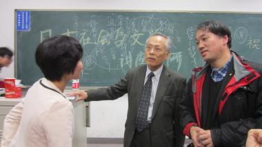 佐高信氏の北京講演会で
