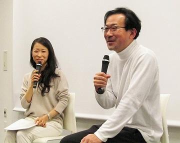 白羽弥仁監督と一青妙さんのトークイベント