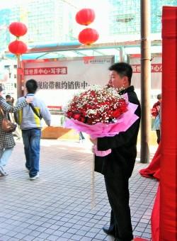北京のバレンタインデー