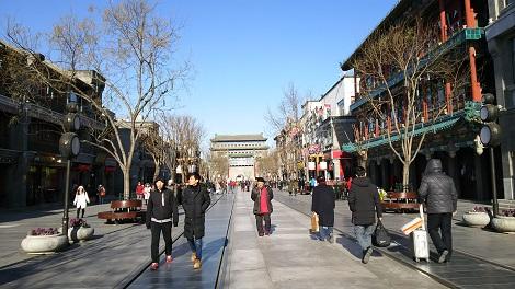 北京・前門大街