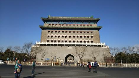 北京の前門(正陽門)