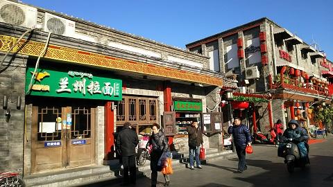 北京の蘭州ラーメン店