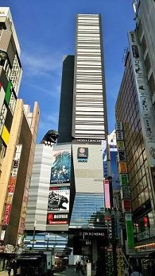 歌舞伎町・ゴジラヘッド