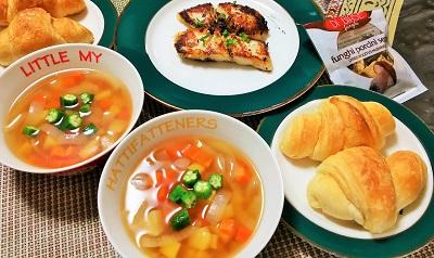 ポルチーニのスープ